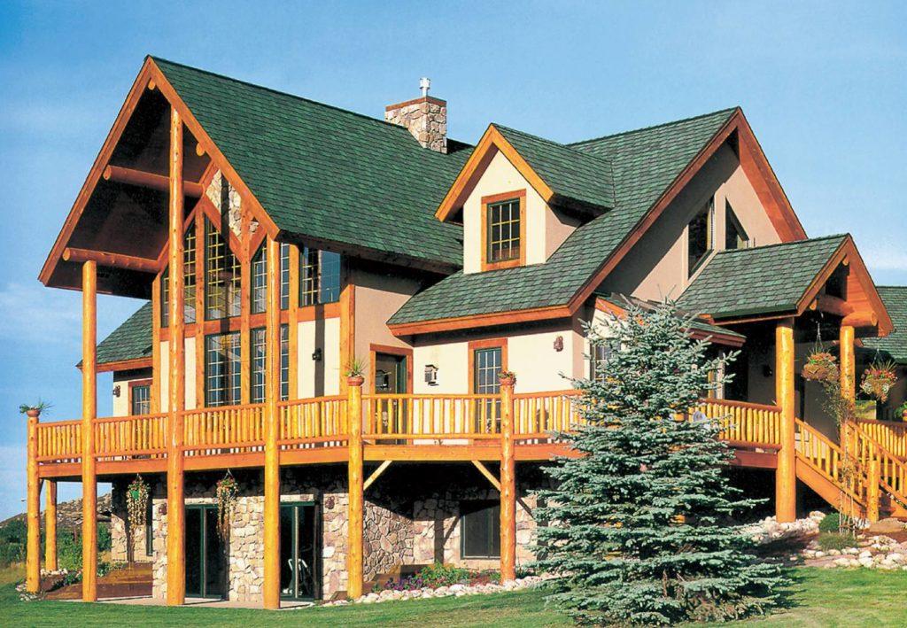 одной версий, фото красивых частных домов коттеджей окраска плода