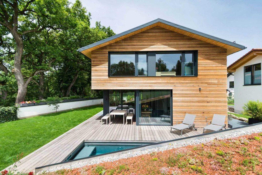 Деревянный дом Бавария