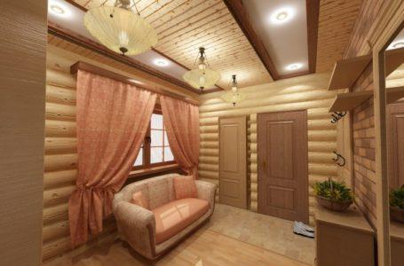 Потолок в деревянном доме из чего сделать?