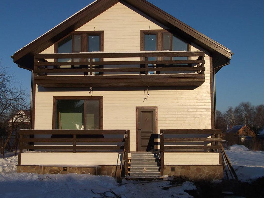 отделка деревянного дома снаружи варианты фото